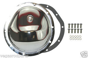 Chrome W Bols Differential Front Cover For Gm 10 Bolt Truck 4x4 Chevy Gm 8 5