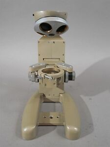 Vickers Instruments Model M14 2 Microscope Frame Only No Head Look To Understand