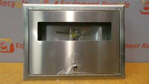 Bobrick B 301 Stainless Steel Seat Cover Locking Dispensers Recessed New