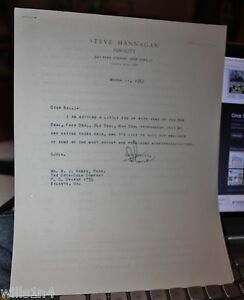 Letter from Coca-cola advertising company to William Hobbs on New Deal socialism