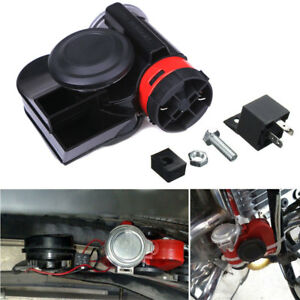 12v Loud Air Horn 139db Compact For Motorcycle Car Truck Vehicle Motorcycle Boat