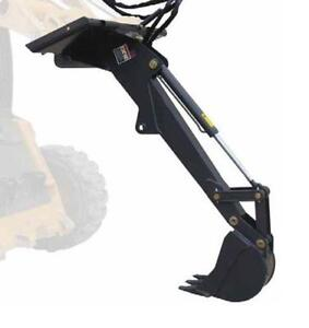 Titan Skid Steer Backhoe Fronthoe Excavator Attachment Bobcat Skidsteer