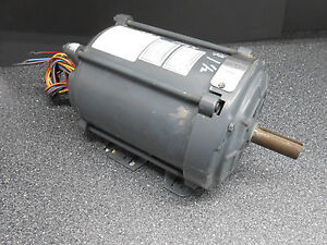 General Electric 5k43pg8095ev 1 1 2 Hp Electric Motor 145t Nema B