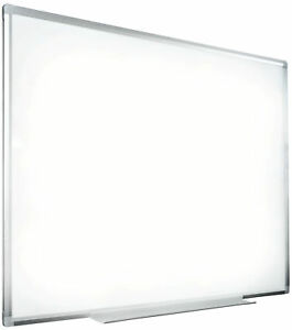 Wall Mount Dry Erase Board Magnetic Dry Wipe Hanging Whiteboard Aluminum Frame