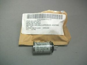 Spectra 502 287 Potentiometer Wire Wound Variable Resistor 5905 00 849 9277 new