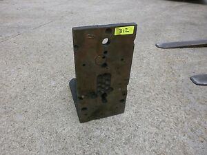8 X 16 X 12 Surplus Right Angle Plate Fixture Workholding Steel 312