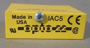 Opto 22 Standard I o Module Iac5 New Old Stock Lot Of 12