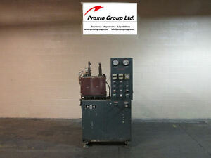 30 Ton Wabash Platen Press 12 X 12 Electrically Heated Platen Press