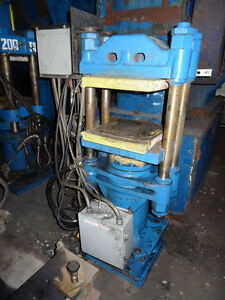 62 8 Ton Fh Maloney 4 Post Molding Press 16 X 16