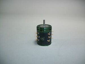 Litton Variable Kc11 01x3 8004 Resistor Potentiometer 20k Ohm New