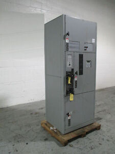 Asco Power Transfer Switch Series 7000 150 Amp 208v Switchgear