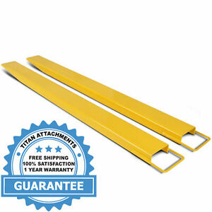 Titan Attachments Pallet Fork Extensions For Forklifts And Loaders Steel 84