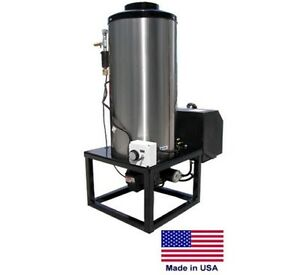 Water Heater For Cold Water Pressure Washers 12vdc Diesel Fired Burner 8 Gpm