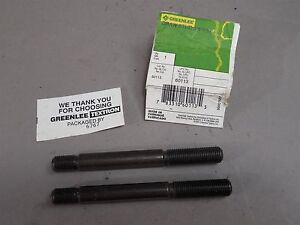 Lot Of 2 Greenlee 60113 Draw Stud 3 8 24 X 3 New