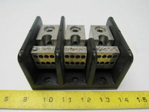 Gould Shawmut 66083 Power Distribution Block 6 Wire To 8 10 14 Wire Per Leg