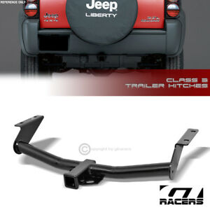 Class 3 Trailer Hitch Receiver Rear Bumper Towing 2 For 2002 2007 Jeep Liberty