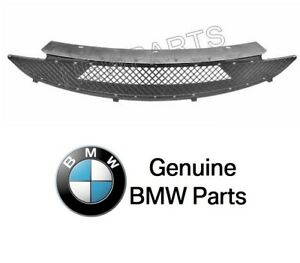 For Bmw E85 Z4 Bumper Cover Grille Front Center Grid Mesh Genuine New