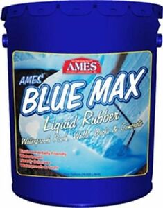 Blue Max Bmx5rg 5 Gallon Liquid Rubber Membrane Waterproof Waterprofing Coating