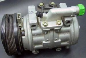 New Ford Small Air Conditioning Compressor With 6 Rib Serpentine Belt Pulley A c