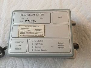 Kistler 5012 Charge Amplifier