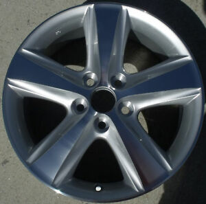 17 New Alloy Wheels Rims For 2010 2011 Toyota Camry Set Of 4 Machined W silver