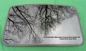 4730205a0 Asc Inalfa Aftermarket Sunroof Glass Panel Model Asi 750 Free Shipping