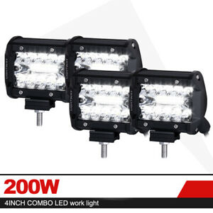 20 Inch 294w Cree Led Work Light Bar Spot Flood Suv Offroad Combo Driving Lamps