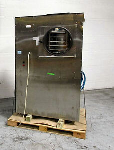 Virtis Freeze Dryer Model Genesis Xl 6 12 S f Capacity Stainless Interior