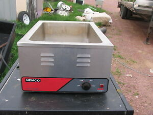 Nemco Full Size Countertop Food Warmer cooker 1200 Watts 6055a