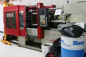 Negri Bossi Ve120 440 All Electric Horizontal Injection Mold Machine