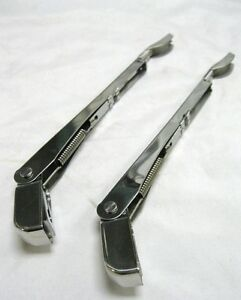6 8 Hook Saddle Type Universal Clamp On Wiper Arms For Chopped Windshields