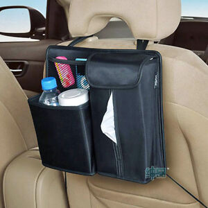 Car Back Seat Headrest Organizer Multi pocket Storage Bag For Vehicle Automobile