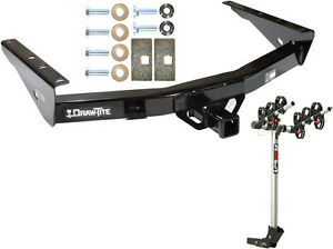 Trailer Hitch Complete Rola 3 bike Rack Carrier Pkg For 00 06 Toyota Tundra