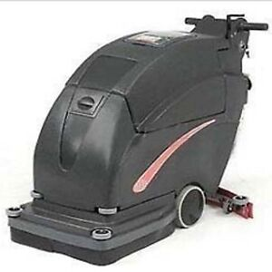 Auto Floor Scrubber Cleaning Width 26 Two 215 Amp Batteries Commercial