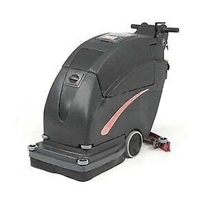 Auto Floor Scrubber Cleaning Width 20 Two 215 Amp Batteries Commercial