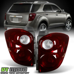 Black Tinted 2010 2015 Chevy Equinox Tail Lights Brake Lamps Pair Set Left right