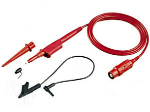 New Fluke Vps210 r 10 1 Voltage Probe Set Red 200 Mhz 1 2m