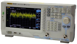 Rigol Dsa815 Spectrum Analyzer No Tracking Generator Us Authorized Dealer