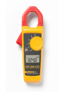 New Fluke 324 400a Ac True Rms Clamp Meter W temp Us Authorized Dealer