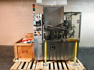 Romaco Tube Filler Tube Filling Machine Model Silver 80 Stainless Steel