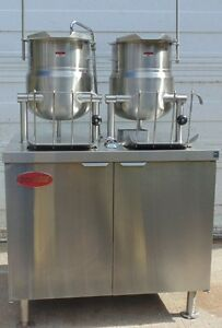 Solaris Steam Emt 6 6s Kettle cabinet Assembly Electric With Broiler