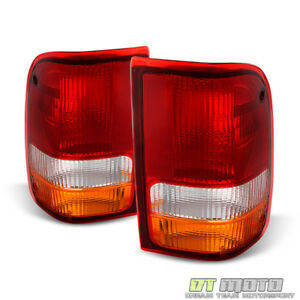 1993 1997 Ford Ranger Rear Tail Lights Brake Lamps Set Left right 93 94 95 96 97