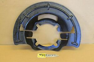 Brake Dust Shield Ford Super Duty F250 Or F350 Dana 60 Or 50 Front Axle Lh Or Rh