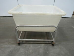 New Age Industrial 0382 9 Bushel Capacity Bulk Restaurant Bus Material Cart