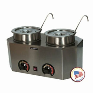 Nacho Cheese Dispenser Warmer Paragon 2029a Hot Fudge Caramel Soup Chili Sauce