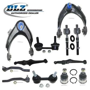 12x Complete Front Suspension Control Arm Kit Parts For Honda Accord 3 0l 98 02