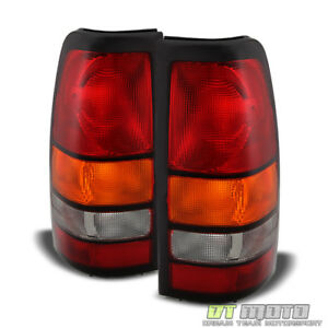 2004 2006 Gmc Sierra 1500 2500 3500 Truck Tail Lights Lamps 04 05 06 Left right