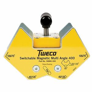 Tweco 400lb Smma400 Magnetic Multi angle Ground Clamp 9255 1063