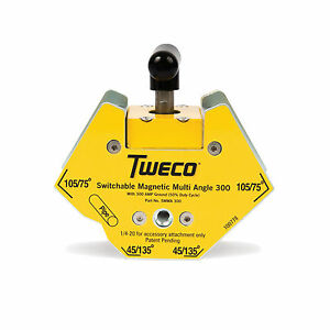 Tweco 150lb Smma300 Magnetic Multi angle Ground Clamp 9255 1064