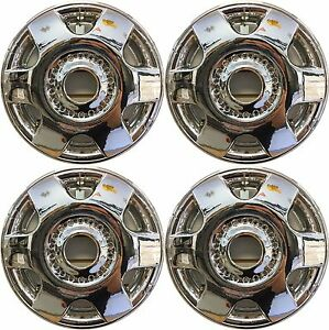 1998 2005 Volkswagen Beetle 16 Chrome Wheel Covers Skins Set For Alloy Wheels